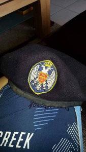 Potraznja beretka kapa policija ratni period