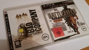 Battlefield bad company 1 i  2 PS3