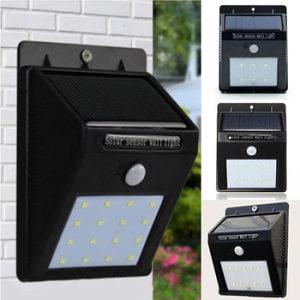 Led zidna solarna lampa senzor