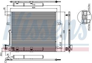 MERCEDES ML (W164) -Hladnjak klime (2006-2007)