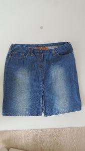 Zenska suknja jeans