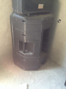 Prazna Zvučna kutija SAL 15 sa skretnicom