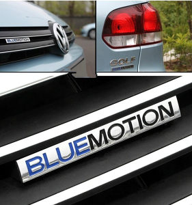 VW BlueMotion Znak Prednji / Zadnji Golf Passat