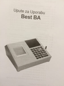 Fiskalna kasa Best BA - kasa