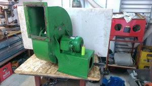 centrifugalni ventilator turbina za piljevinu