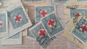 Kraljevina Jugoslavija iz 1933 g.doplatne marke crvenog