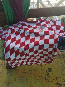 Hrvatska sahovnica Nike L dry fit majica kratki rukavi