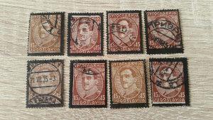 Kraljevina Jugoslavija 1934/35 crni okvir povod smrt