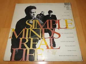 Simple Minds Lp
