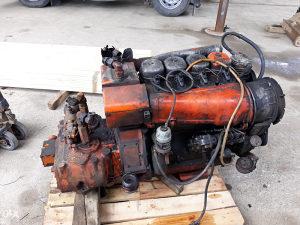 Dijelovi ATLAS 1302 motor,hidropumpa,gume,kasika
