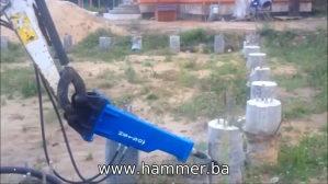 Hidraulični čekić HS150
