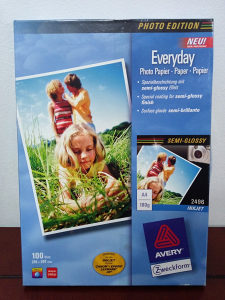 INKJET photo paper A4 HP Canon Epson Lexmark 80kom