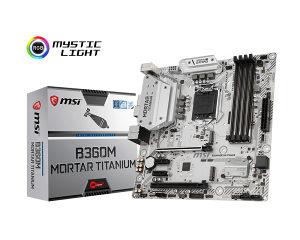 MSI B360M MORTAR TITANIUM LGA 1151