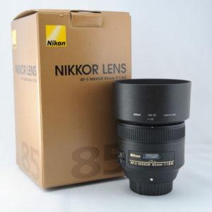 Nikon 85mm f1.8G