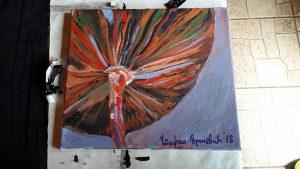 Umjetnicka slika - Pecurka