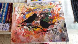 Umjetnicka slika - Ptice