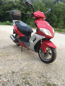 Skuter pegeot 125 cc