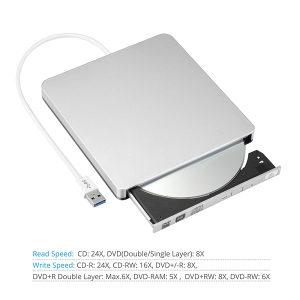 Externi DVD CD RW Drive Przac 3.0USB Apple Mackbook