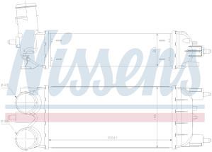 PEUGEOT 508 -Hladnjak zraka (2011-2014)