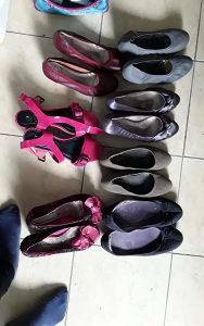 Prodajem 7 pari polovnih cipela
