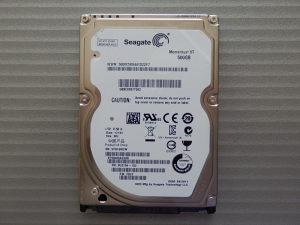 Seagate Momentus XT 500GB ST95005620AS