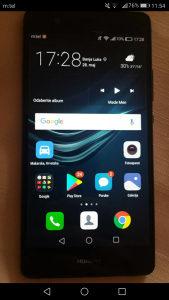 Huawei p9 lite 2017- Displej pukao, touch radi