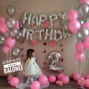 Balon - Baloni Happy birthday - Srecan rodjendan slova