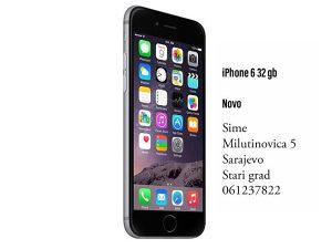 iPhone 6 32 gb novo