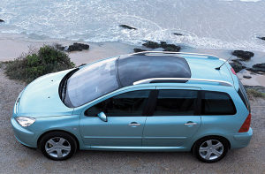 Peugeot 307 SW Karavan sjedista 6i7 za gepek