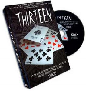 13 Professional Magic Card Tricks Video Tutorial- DVD