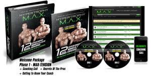 DVD-Hypertrophy Max Phase 1 & 2