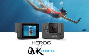 GoPro KAMERA HERO 6 BLACK (Hero6) 4K Go Pro CHDHX-601