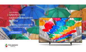 "Sony UltraHD 43"" Android 43XE8077 WiFi 4K TV XE8077"