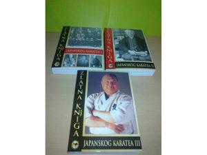 Zlatna knjiga japanskog karatea I-III ,Nenad Simic,novo