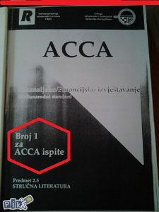 ACCA Broj 1 za polaganje ispita- cert,računovođe