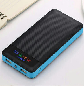 Power Bank 12.000mAh Plavi/USB Kabal/Besp.Dostava