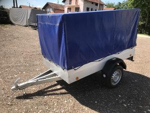 Auto prikolica do 750 kg-nova
