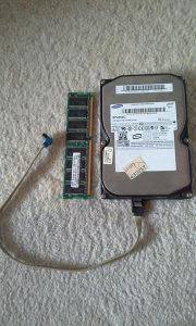 Hard disk i RAM memorija