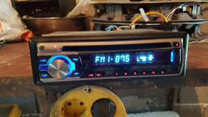Kenwood (mp3 usb radio)