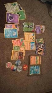 Yu-gi-oh karte. Pokemoni,slicice fudbalera...