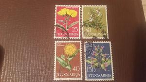 Markice starije Jugoslavija cvijeće - flora