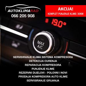 Reparacija i prodaja kompresora, punjenje auto klime