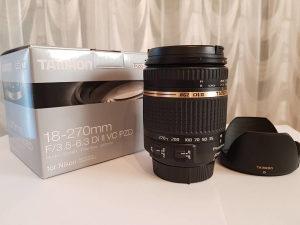 TAMRON 18-270mm F3.5-6.3 Di II VC PZD - Nikon 18-270 mm