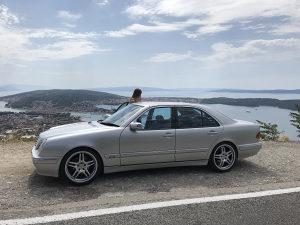 Mercedes E320 CDI Avatgarde Perfektan Stanje 10/10