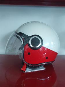 Kaciga Vespa Red & White