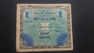Njemačka 1 marka 1944