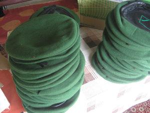 zelena beretka,beretke
