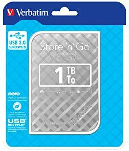 HDD 1TB USB 3.0 Verbatim externi