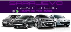 Rent a car Sarajevo +38761712688. rentacar renta