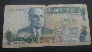 Tunis 1 dinar 1973